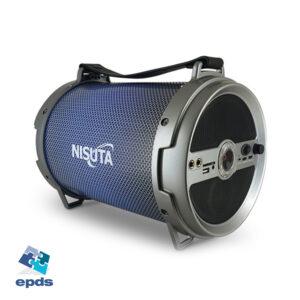 PARLANTE PORTATIL 12″ BLUETHOOT FM LUCES (NSPA12)