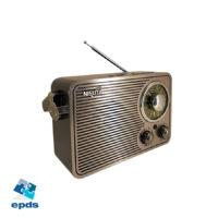 RADIO AM/FM VINTAGE (NSRV19) con MP3,BT,AUX